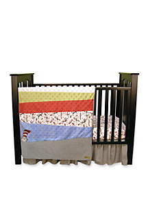 Dr. Seuss™ Cat in the Hat 3-Piece Crib Bedding Set