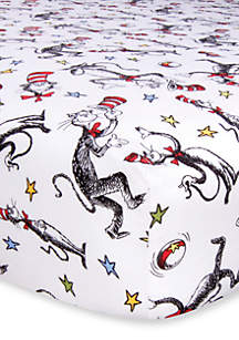 Dr. Seuss The Cat in the Hat Fitted Crib Sheet