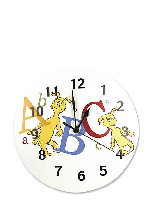 Trend Lab® Dr. Seuss ABC Wall Clock