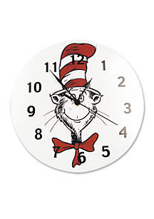 Dr. Seuss The Cat in the Hat Wall Clock