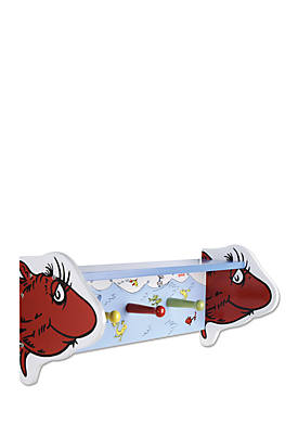Dr. Seuss One Fish, Two Fish Shelf with Pegs