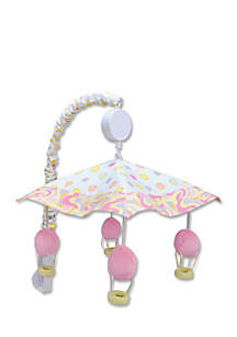 Dr. Seuss™ Oh, The Places You'll Go Pink Musical Crib Mobile