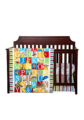Dr. Seuss™ Alphabet Seuss 3-Piece Crib Bedding Set