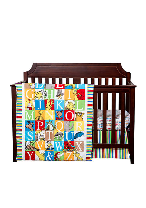 Trend Lab® Dr. Seuss™ Alphabet Seuss 3-Piece Crib