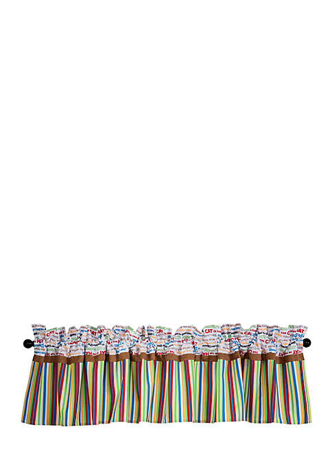 Trend Lab® Dr. Seuss™ Alphabet Seuss Window Valance