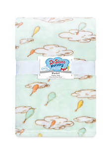 Trend Lab® Dr. Seuss Oh, the Places You'll Go! Plush Baby Blanket