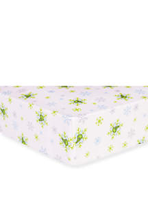 Dr. Seuss The Grinch Flannel Fitted Crib Sheet