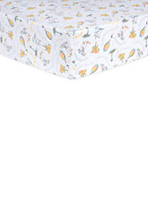 Trend Lab® Dr. Seuss Oh, the Places You'll Go! Quotes Fitted Crib Sheet