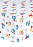 Dr. Seuss By Trend Lab Cat In The Hat Fitted Crib Sheet