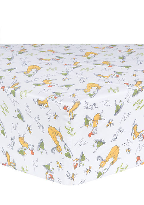 Trend Lab® Dr. Seuss Sam-I-Am Fitted Crib Sheet