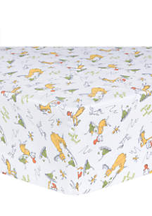 Dr. Seuss Sam-I-Am Fitted Crib Sheet