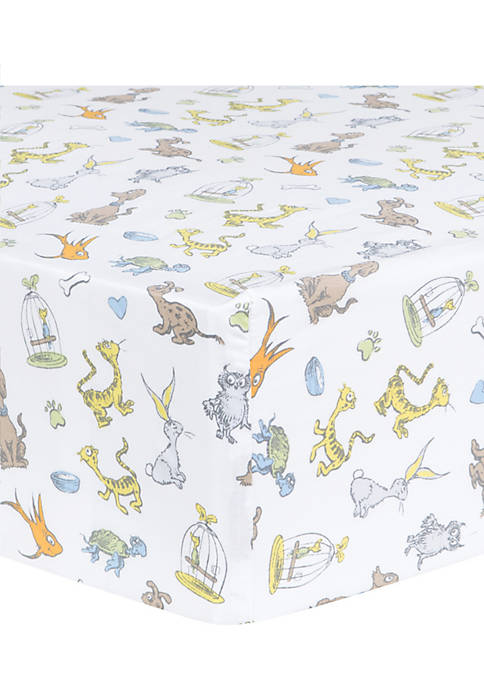 Dr. Seuss What Pet Should I Get? Fitted Crib Sheet