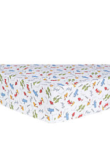 Trend Lab® Dr. Seuss by Trend Lab One Fish, Two Fish Fitted Crib Sheet