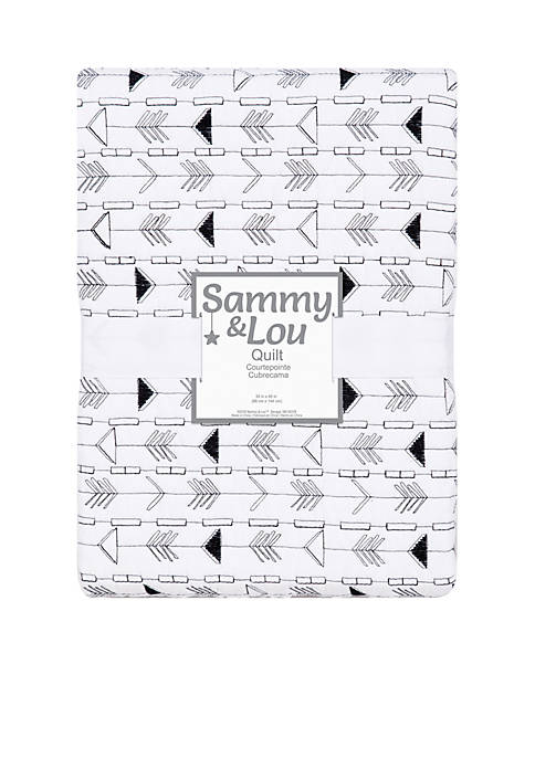 Trend Lab® Black and White Arrows Quilt