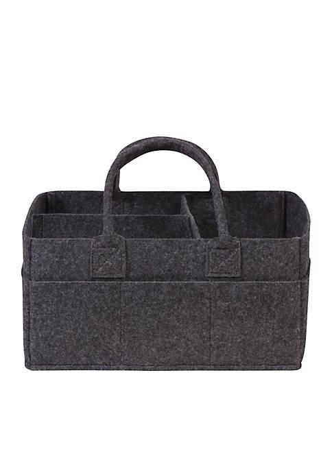 Trend Lab® Charcoal Gray Felt Storage Caddy