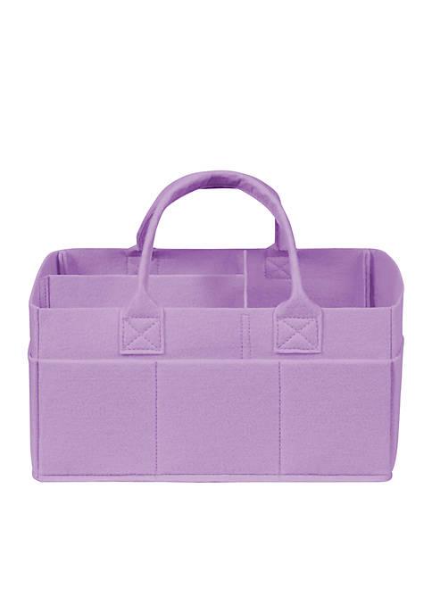 Trend Lab® Lavender Felt Storage Caddy