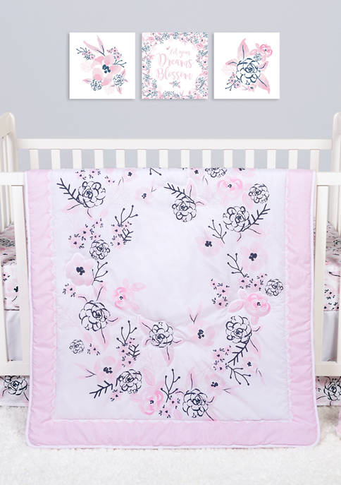 Sammy and Lou Baby Simply Floral 4 Piece