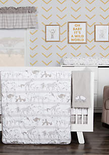 Waverly Congo Line Five-Piece Crib Bedding Set