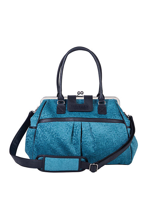 Trend Lab® Waverly Stetson Lagoon Framed Diaper Bag