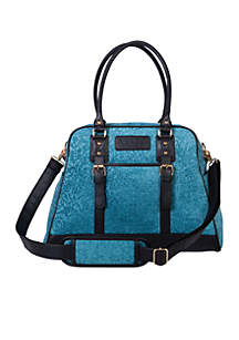 Waverly Stetson Lagoon Carryall Diaper Bag