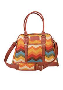 Waverly Panama Wave Adobe Carryall Diaper Bag