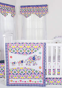 Waverly Santa Maria 5 Piece Crib Bedding Set