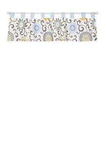 Trend Lab® Waverly Baby by Trend Lab Pom Pom Spa Window Valance