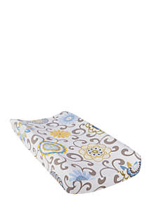 Waverly Baby by Trend Lab Pom Pom Spa Changing Pad Cover