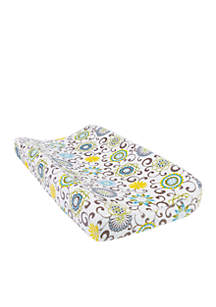 Trend Lab® Waverly Baby by Trend Lab Pom Pom Spa Plush Changing Pad Cover