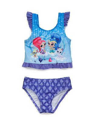 2cc337ab96 Nickelodeon™ Shimmer And Shine 2-Piece Bikini Set Toddler Girls | belk