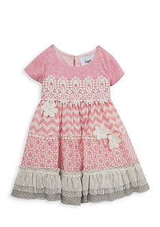 Counting Daisies by Rare Editions Tiered Daisy Dress