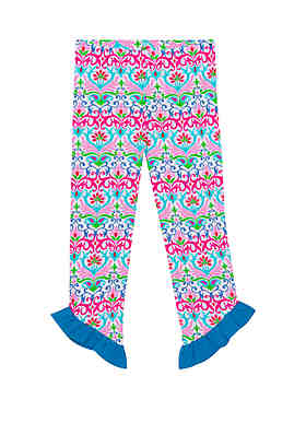 77f5d3bf2 Jumping Fences by Rare Editions Baby Girls Printed Knit Leggings ...