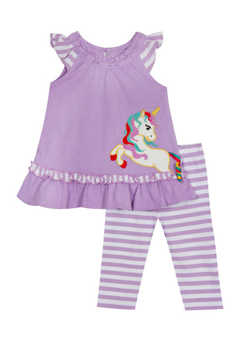 Jumping Fences by Rare Editions Baby Girls Knit