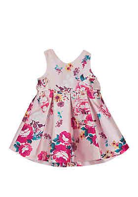 951aa88d4ba Rare Editions Toddler Girls Floral Pink Social Dress ...