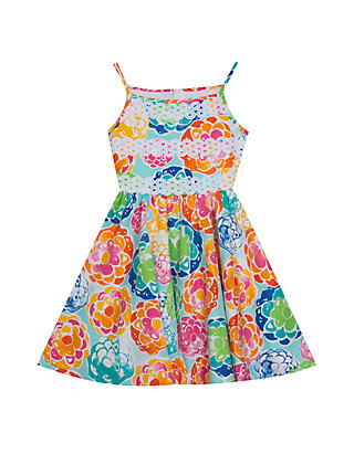 5f4aa1357279a Rare Editions. Rare Editions Toddler Girls Floral Sateen Fit and Flare Dress
