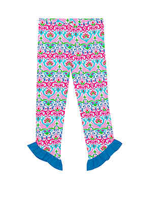 0faa0d87f Jumping Fences by Rare Editions Toddler Girls Patterned Small Ruffle Capris  ...