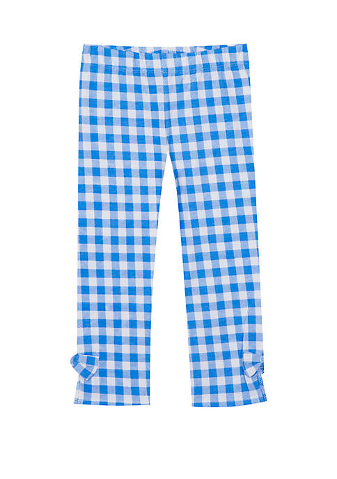 Jumping Fences by Rare Editions Toddler Girls Gingham