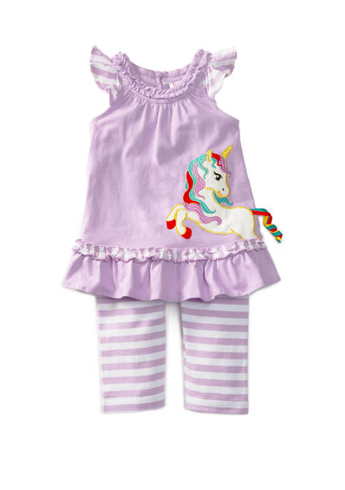 Jumping Fences by Rare Editions Toddler Girls Unicorn