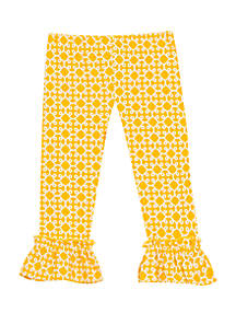 3e0936a2f84e4 ... Rare Editions Toddler Girls Printed Large Ruffle Pants