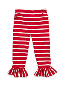 Rare Editions Toddler Girls Striped Pants