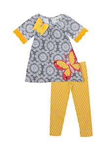 Infant Girls 2-Piece Butterfly Set