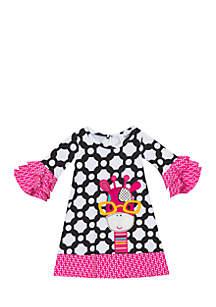 Infant Girls Giraffe Dress