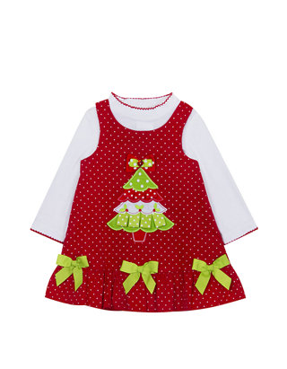 Rare Editions Christmas Toddler.Toddler Girls Christmas Tree Jumper