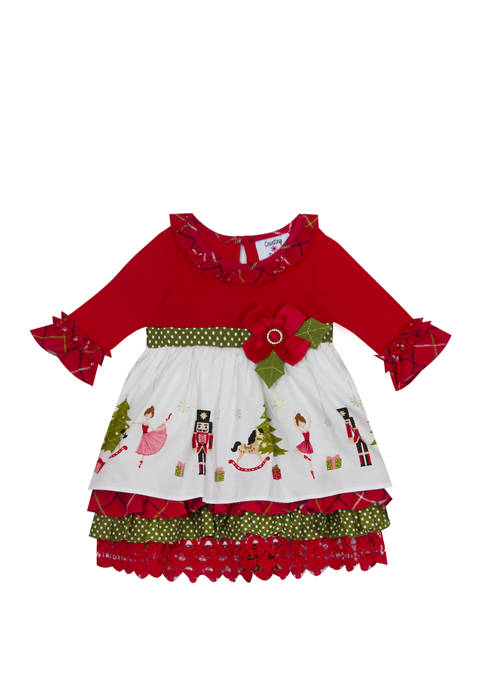 Counting Daises Baby Girls Nutcracker Dress