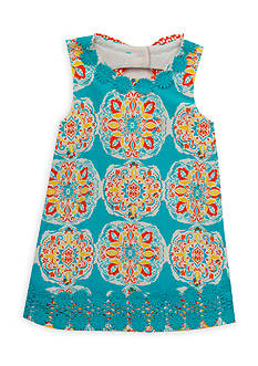 Counting Daisies by Rare Editions Medallion Knit Dress