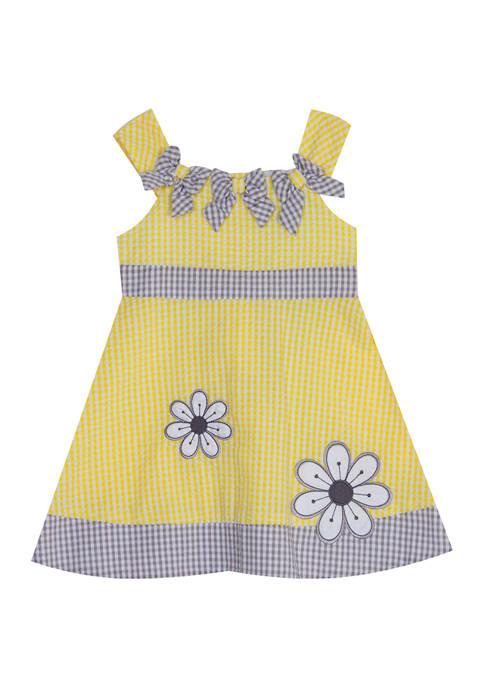 Baby Girls Seersucker Dress