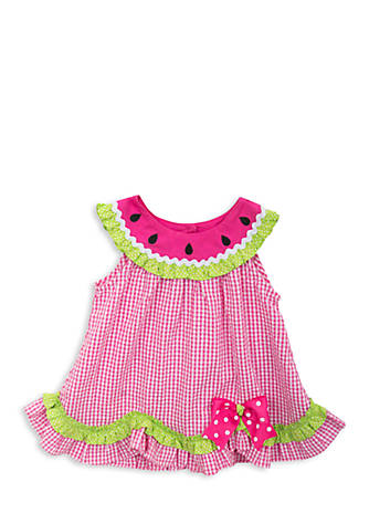 Image result for toddler seersucker watermelon dress