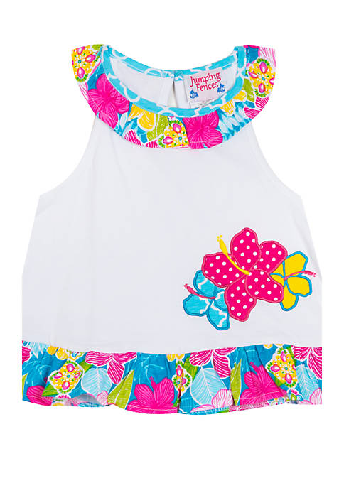 Jumping Fences by Rare Editions Toddler Girls Floral