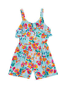 Rare Editions Toddler Girls Floral Romper