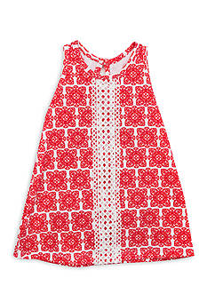 Counting Daisies by Rare Editions Geo Print Dress